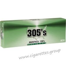 305's Menthol 100's [Box]