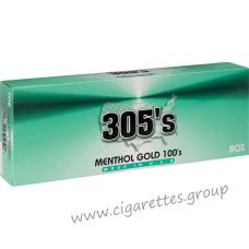 305's Menthol Gold 100's [Box]