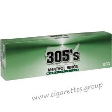 305's Menthol Kings [Box]