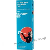 American Spirit Organic Full-Bodied Taste Turquoise [Box]