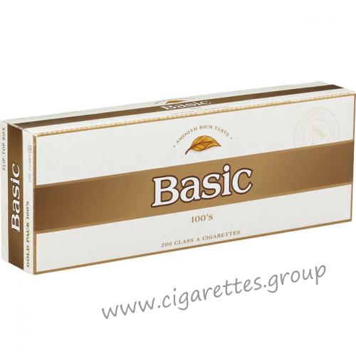 Basic 100's Gold [Pack Box]