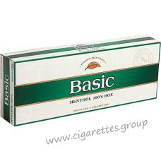Basic Menthol 100's [Box]