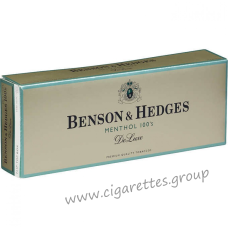Benson & Hedges Menthol 100's DeLuxe [Box]
