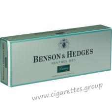 Benson & Hedges Menthol 100's Luxury [Box]