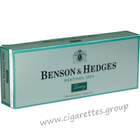 Benson & Hedges Menthol 100's Luxury [Soft Pack]