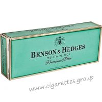 Benson & Hedges Menthol 100's [Soft Pack]