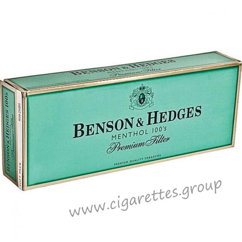 Benson & Hedges Menthol 100's [Soft Pack]