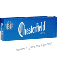 Chesterfield Blue 100's [Box]