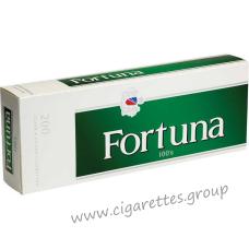 Fortuna Menthol Dark Green 100's [Box]