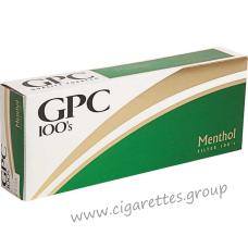 GPC Menthol 100's [Soft Pack]