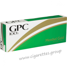 GPC Menthol Gold 100's [Soft Pack]