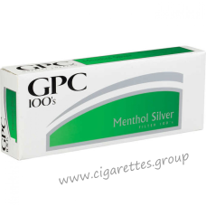 GPC Menthol Silver 100's [Soft Pack]