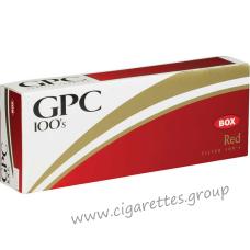 GPC Red 100's [Box]