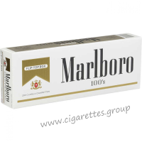 Marlboro 100's Gold [Pack Box]