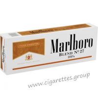 Marlboro Blend No. 27 100's [Box]