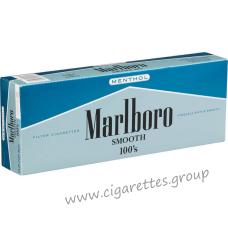Marlboro Smooth 100's Menthol [Box]