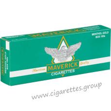 Maverick Menthol Gold 100's [Box]