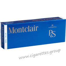 Montclair Blue 100's [Box]