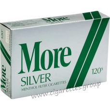 More Menthol Silver 120's [Soft Pack]