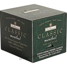 Nat Sherman Classic Menthol Kings Cube