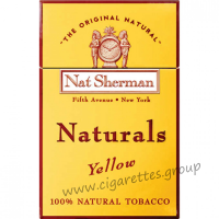 Nat Sherman Naturals Yellow [Box]