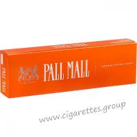 Pall Mall Orange Filter Kings [Box]