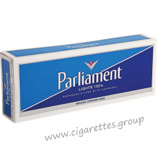 Parliament Lights 100's White [Pack Box]
