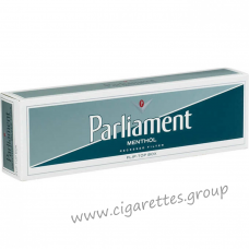 Parliament Menthol Silver [Pack Box]