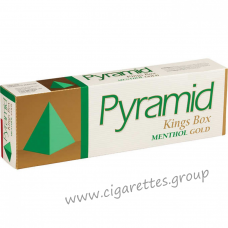 Pyramid King Menthol Gold [Box]