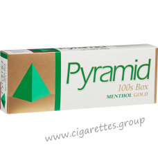 Pyramid Menthol Gold 100's [Box]