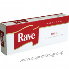 Rave Red 100's [Box]