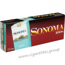 Sonoma Menthol Green 100's [Soft Pack]