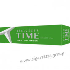 Timeless Time Menthol Green King [Box]