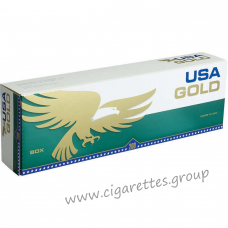 USA Gold Menthol Dark Green [Box]