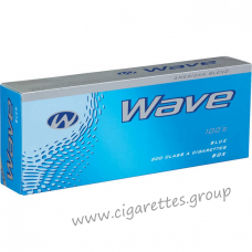 Wave Blue 100's [Box]