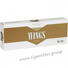 Wings Gold 100's [Box]